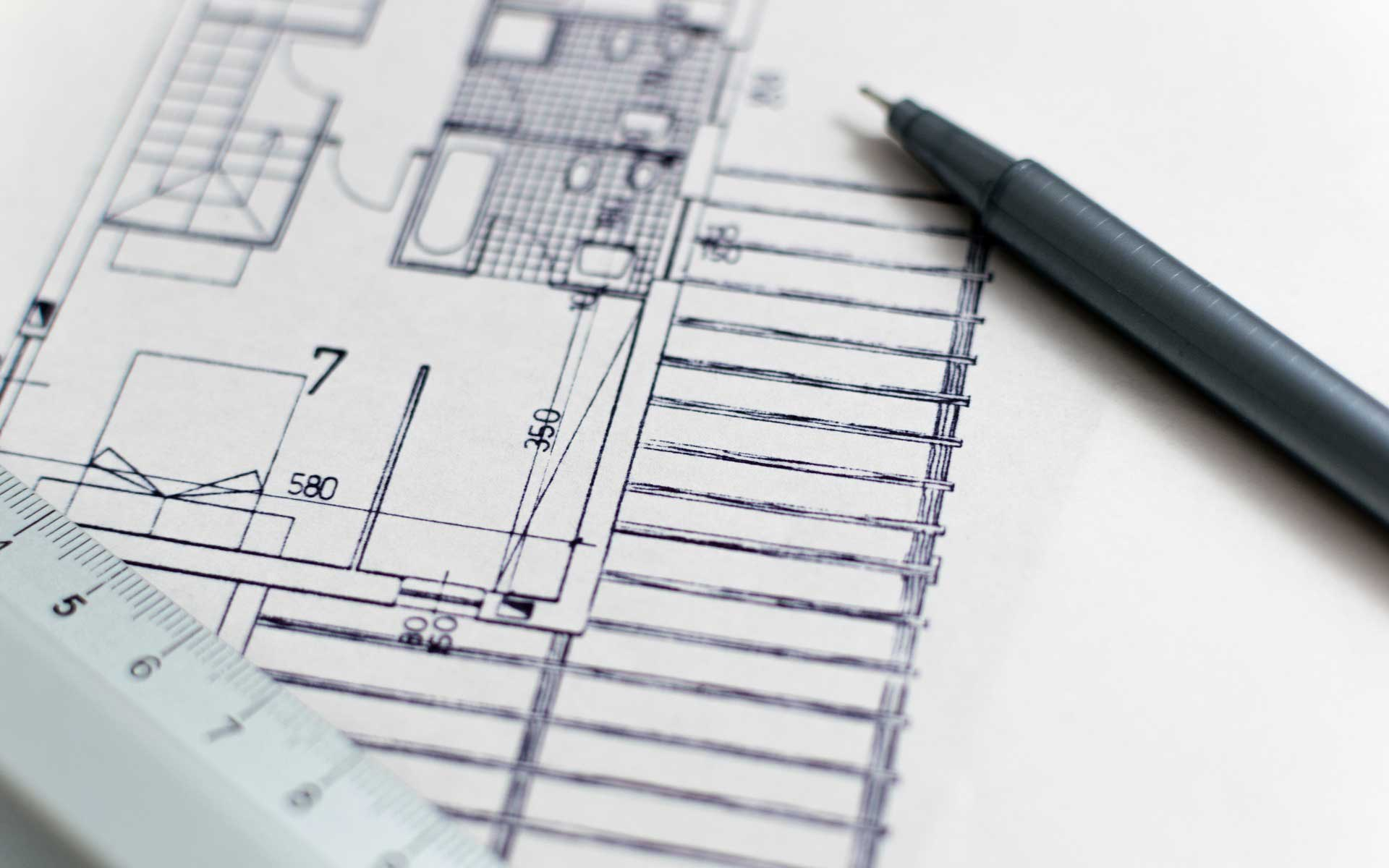 Pen and Blueprint